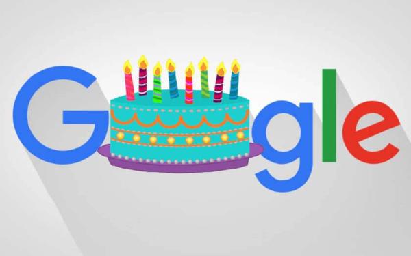 On vous parle de l'anniversaire de Google