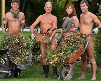 Journée mondiale du jardinage nu