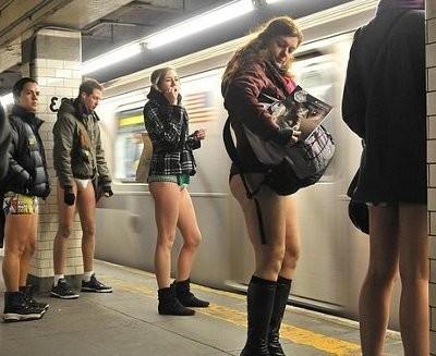 Journée mondiale sans pantalon
