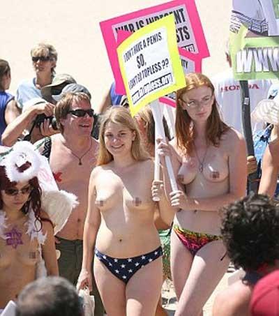 Journée mondiale Topless