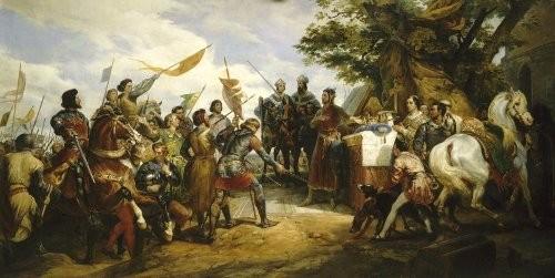 Le dimanche 27 juillet 1214, c'était la bataille de Bouvines
