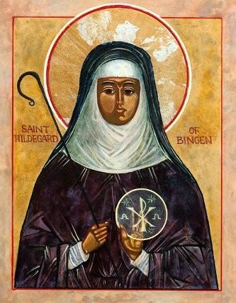 Hildegarde de Bingen est née le 16 septembre 1098