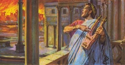Le 18 juillet 64, l'empereur Néron provoque l'incendie de Rome