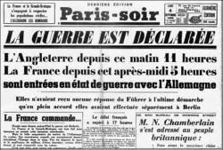 Le 3 août 1914, la France entre en guerre à son tour