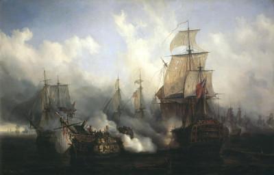 Ce jour là, en 1805, c'était la bataille de Trafalgar