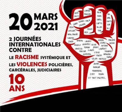 Journée internationale de lutte contre les violences policières